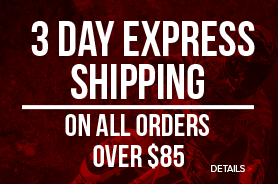 Free 3 Day Express Shipping On All Orders Over $85