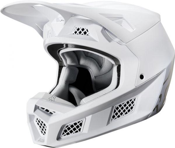 Fox V3 Helmet >> Fox Racing V3 Solids Helmet Color Carbonblack Size S