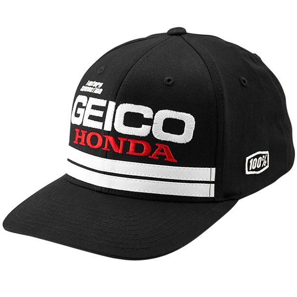 5fa13997 100% - Foxtrot Geico Honda X-fit Snapback Hat: BTO SPORTS