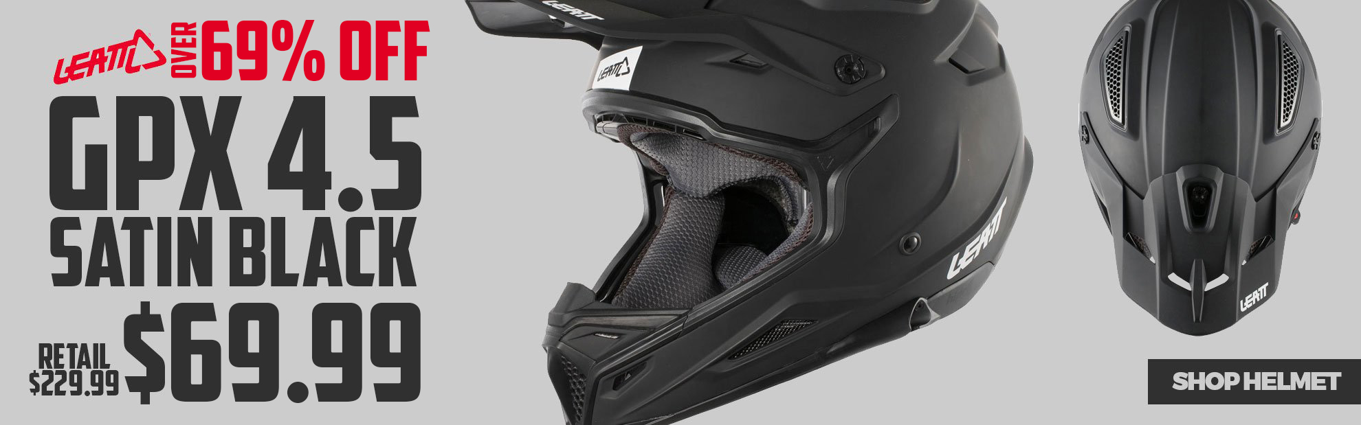 Leatt Dirt Bike Helmet Sale