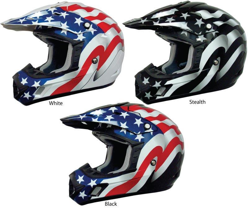 Afx Fx 17 Flag Helmet Bto Sports