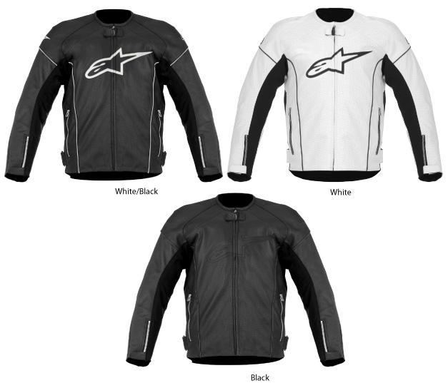 Alpinestars Tz-1 Reload Perforated Leather Jacket Black 54