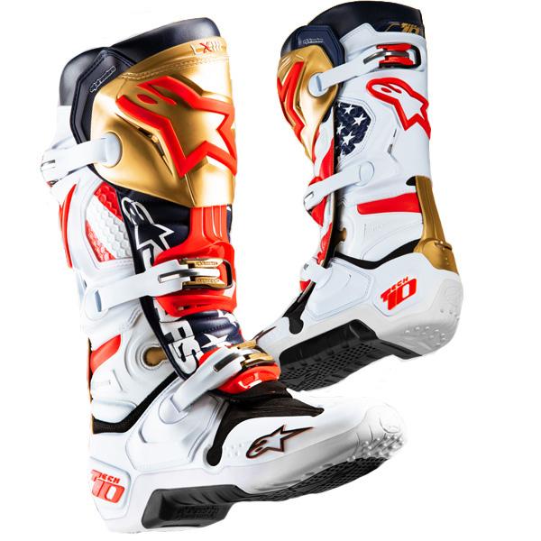 a5b2111453f019 Alpinestars - Tech 10 Liberty Limited Edition Boots  BTO SPORTS