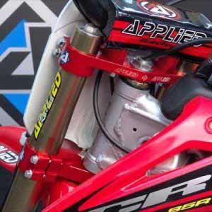 Applied Racing Factory Mini Bike Triple Clamp Set Bto