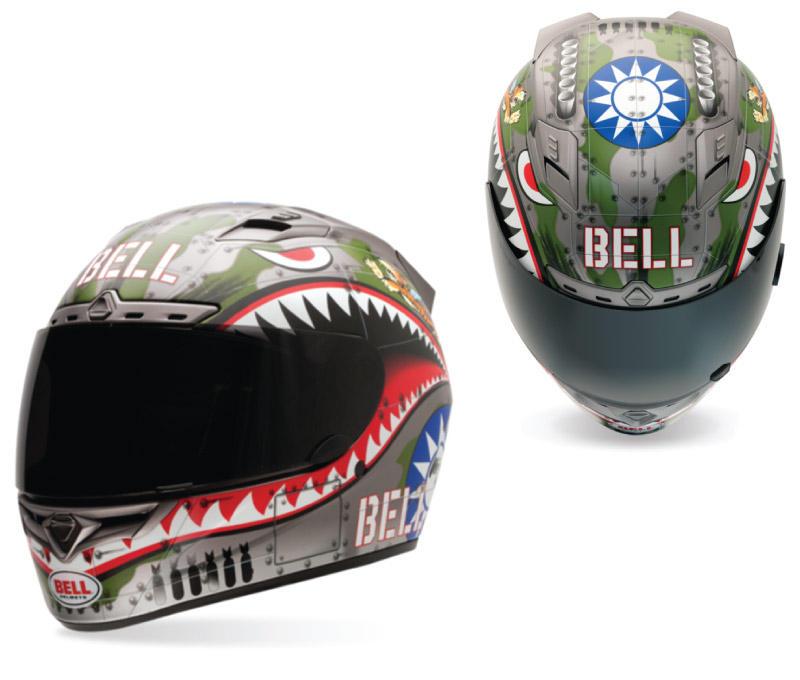Bell Vortex Flying Tiger Helmets Bto Sports