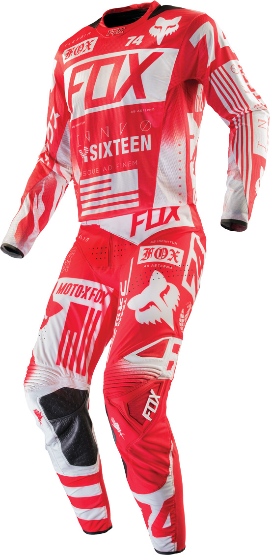Fox Racing 2016 Flexair Union Jersey Pant Combo Bto Sports