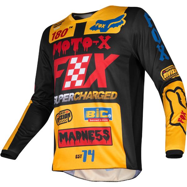 Cota Orange FOXHEAD Fox 180 Motocross Mx Pants Jersey
