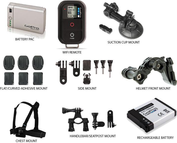 gopro hero camera accessories go pro bto sports. Black Bedroom Furniture Sets. Home Design Ideas