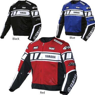 Joe Rocket Yamaha Champion Mesh Motorcycle Jacket