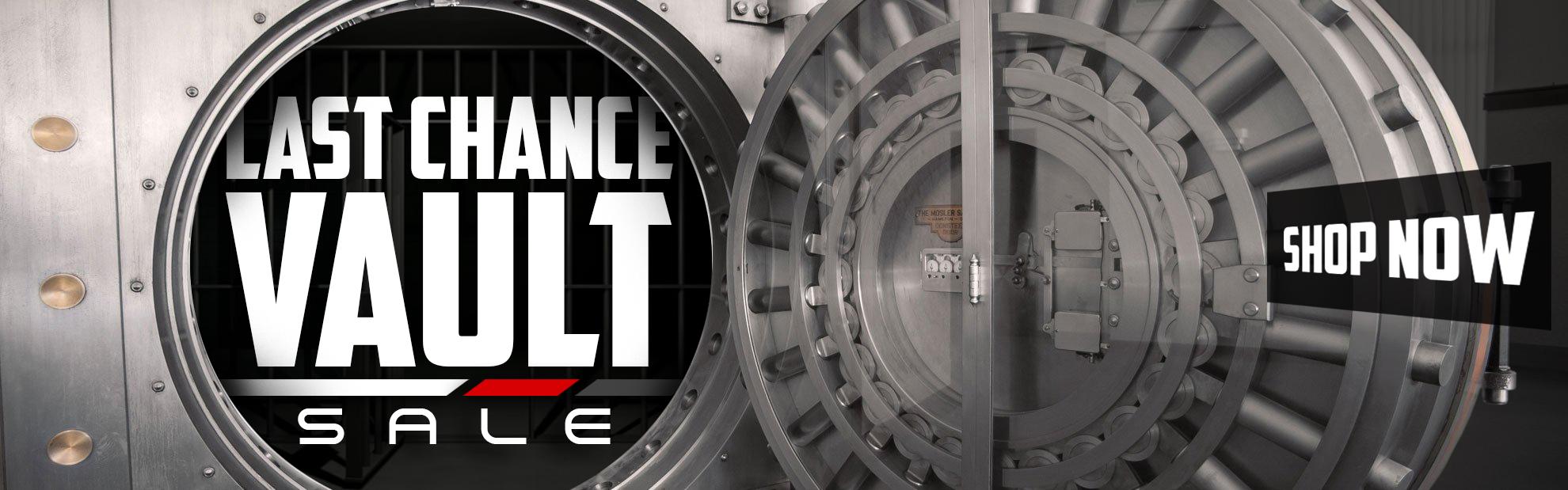 Last Chance Vault Sale