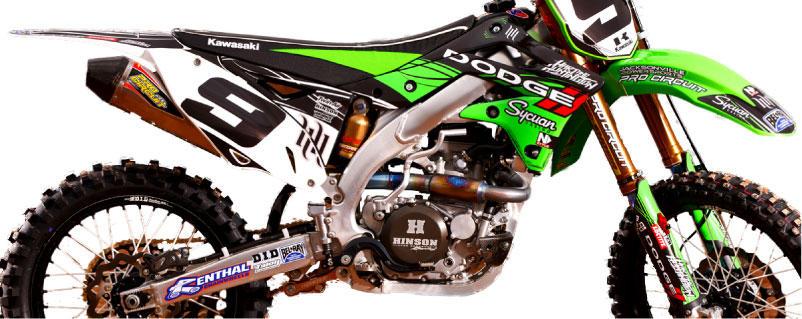 Hart And Huntington Graphics Kawasaki