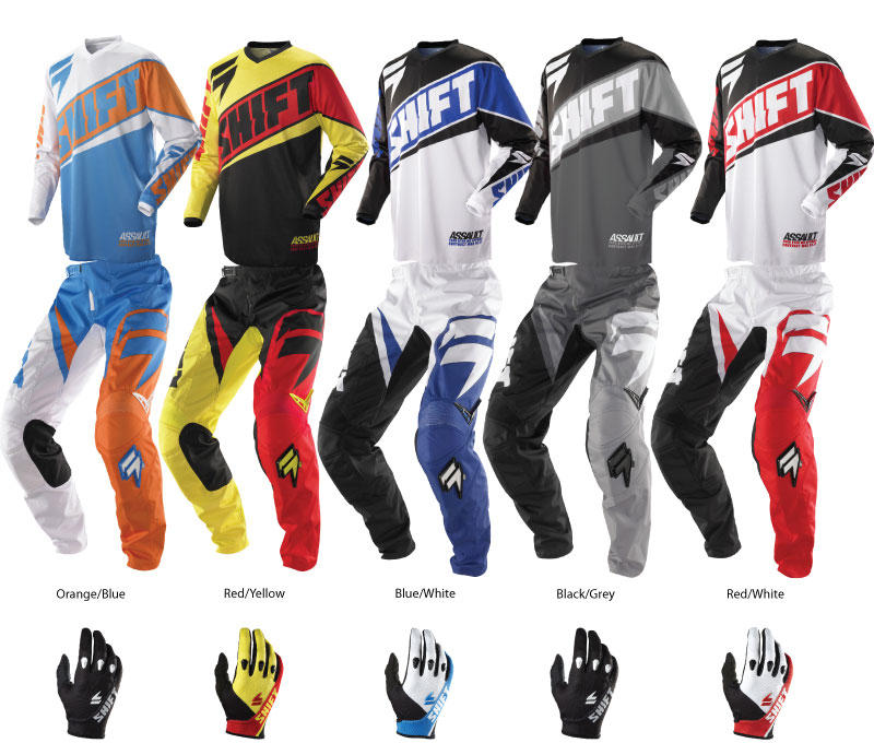 Shift 2014 Assault Motocross Gear