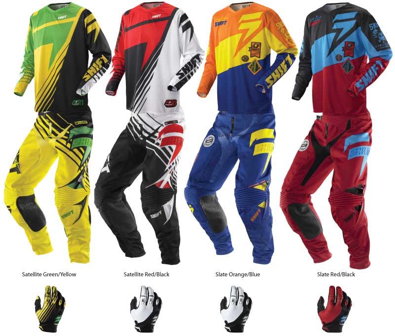 Shift 2014 Faction Motocross Gear