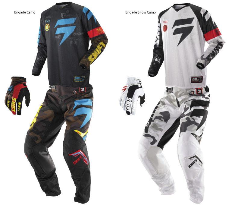 Shift 2014 Strike Cammo Motocross Gear