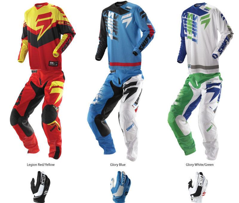 Shift 2014 Strike Motocross Gear