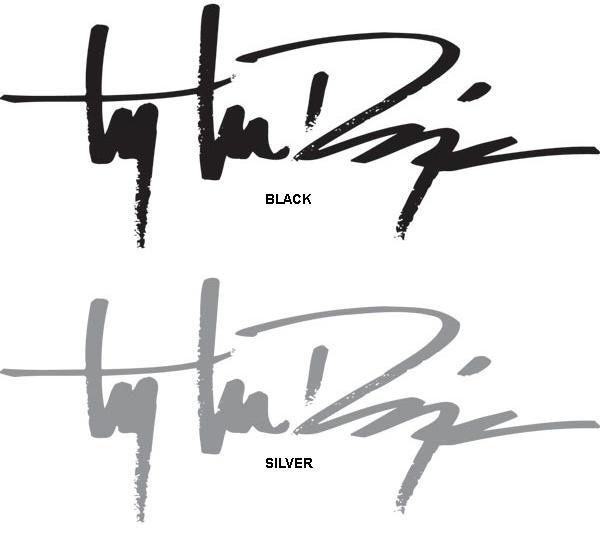 Troy lee designs signature sticker