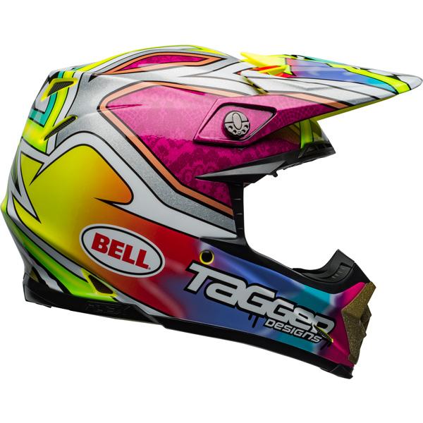 be11129c Bell - Moto-9 Carbon Flex Tagger Mayhem Helmet: BTO SPORTS