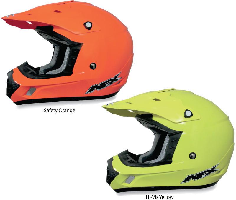 Afx Fx 17 Hi Vis Solid Helmets Bto Sports