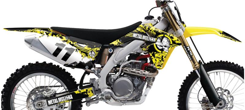 Metal Mulisha Graphics Kit Suzuki