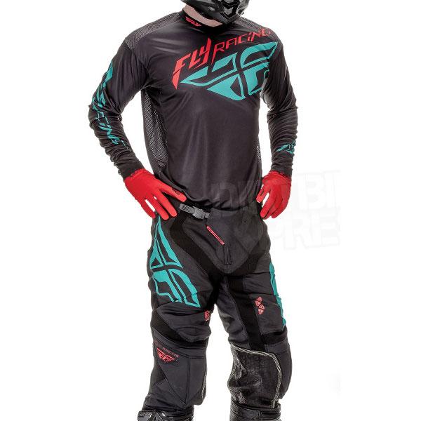 Fly Racing 2016 Lite Hydrogen Jersey Pant Gear Combo