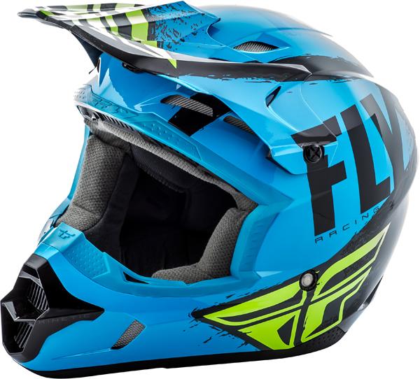 Fly Racing Kinetic Burnish Helmet Youth Bto Sports