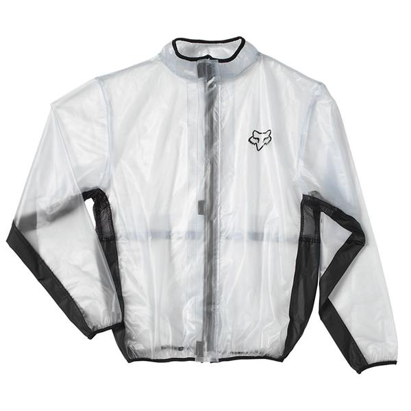 Thor Rain Waterproof MX Motorcycle Jacket Clear