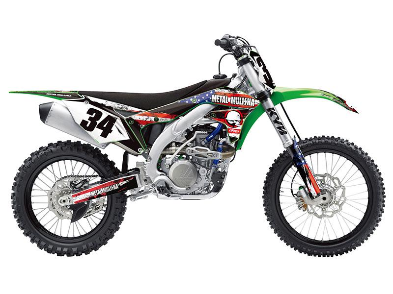 kawasaki graphics | dirt bike graphics - btosports