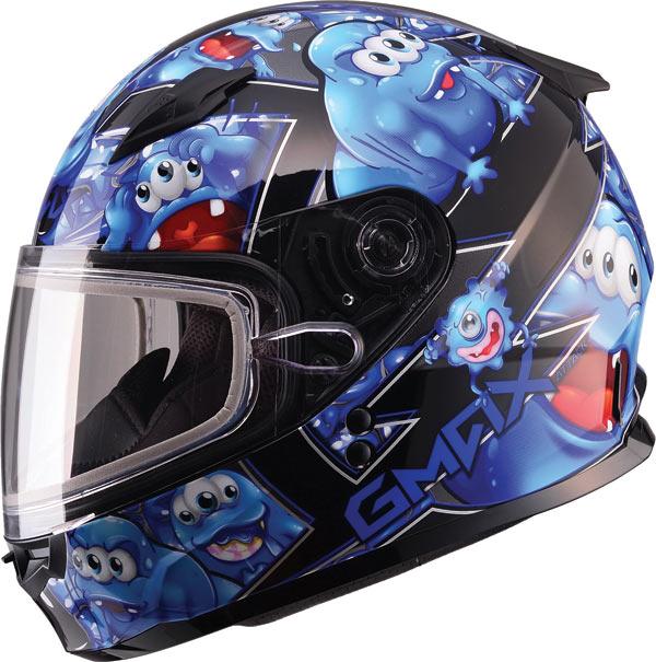 Gmax Gm49y Graphics Snow Helmet Youth Bto Sports
