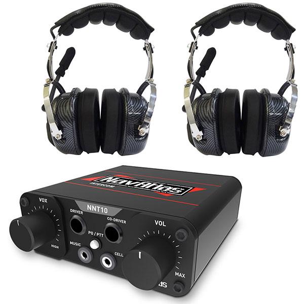 navatlas compact intercom system w over the head headset. Black Bedroom Furniture Sets. Home Design Ideas