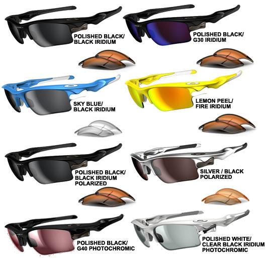 oakley fast jacket polarized sunglasses