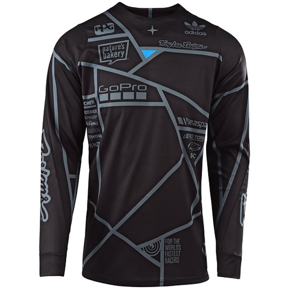 2019 TROY LEE DESIGNS SE METRIC BLACK WHITE COMBO *FREE JERSEY CUSTOMIZATION*