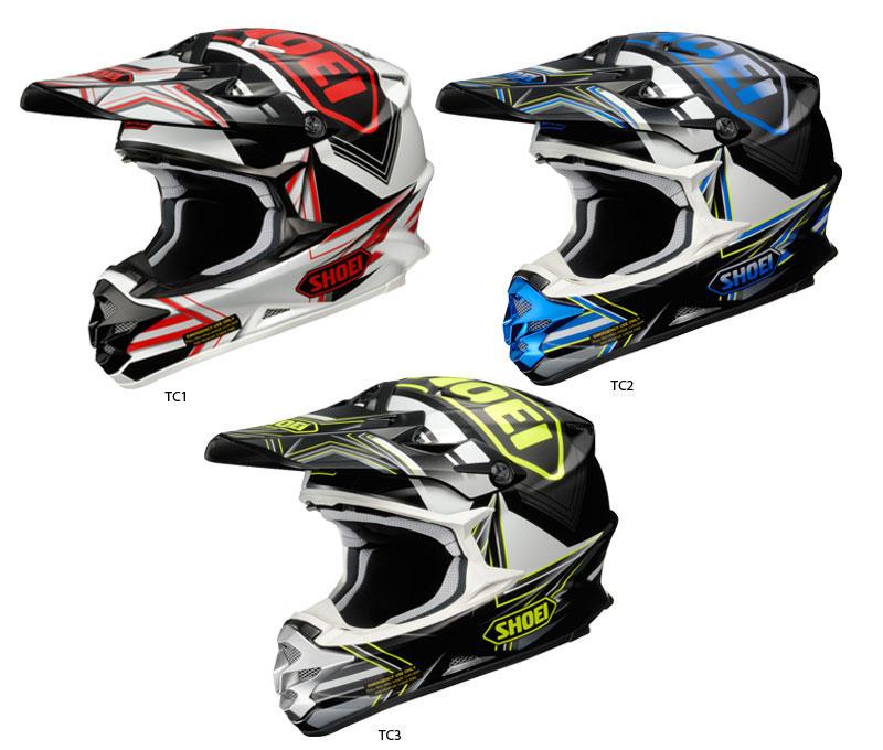 shoei motocross helmets browse top shoei mx helmets now. Black Bedroom Furniture Sets. Home Design Ideas