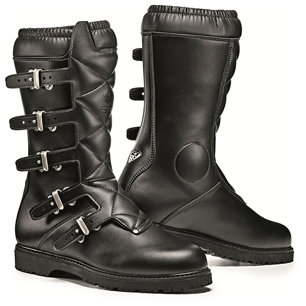 Black Quilted Riding Boots
