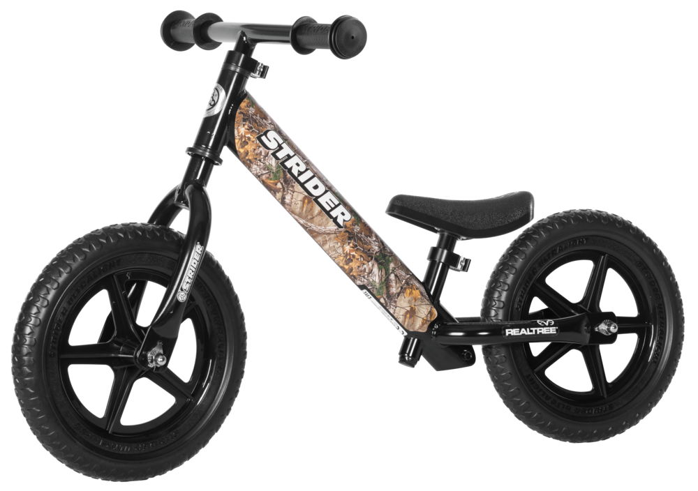 Strider 12 Custom Camo Balance Bike Bto Sports