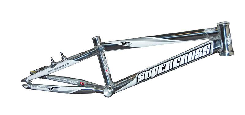 Supercross - Envy V5 Race Frame - Polished (BMX): BTO SPORTS