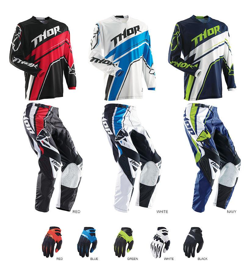 2014 Thor Motocross Gear Product Spotlight