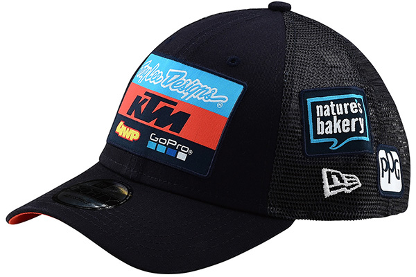 b957b7c5 Troy Lee Designs - 2019 KTM Team Curve Snapback Hat: BTO SPORTS
