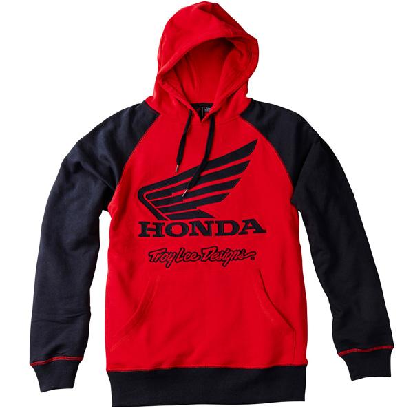 c6492408eb2d4 Troy Lee Designs - Team Honda Wing Pullover Hoodie  BTO SPORTS