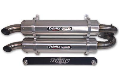 Trinity Racing - Stage 5 UTV Slip-On Exhaust (Polaris): BTO