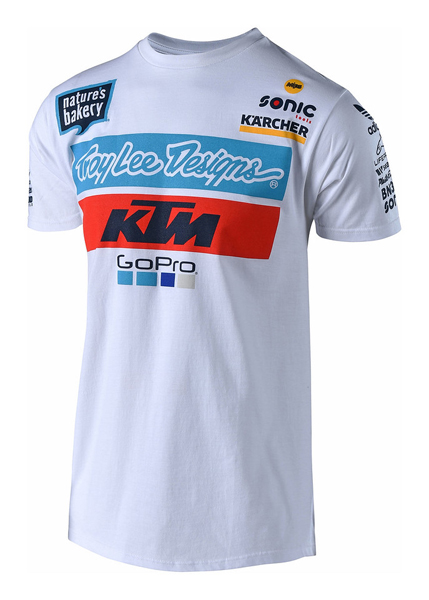 troy lee designs ktm team tee shirt zoom