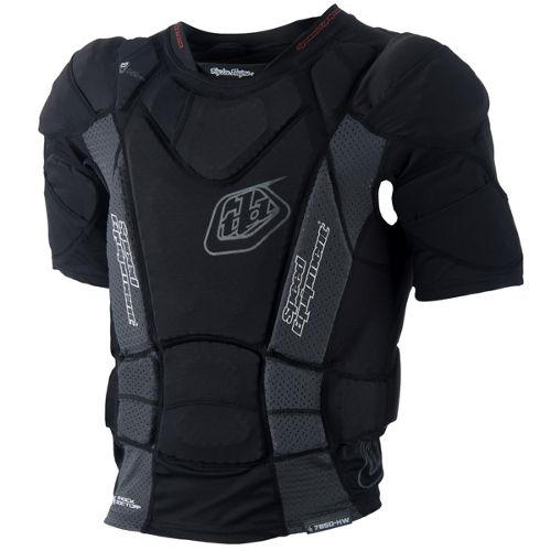 Troy Lee Designs Bp7850 Hw Short Sleeve Protective Shirt