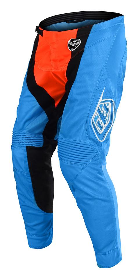 Cyan//Orange 28 Troy Lee Designs SE Air Squadra Mens Off-Road Motorcycle Pants