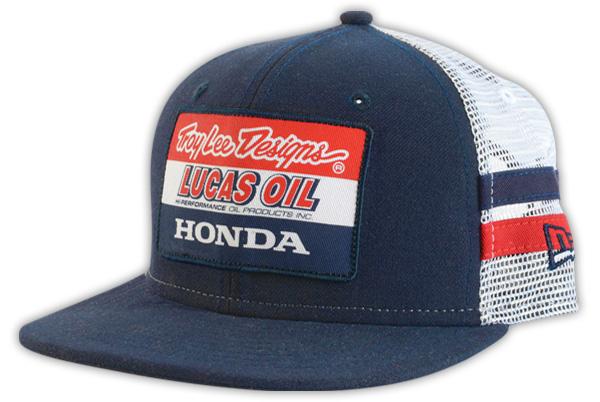 6a739f9f810 Troy Lee Designs - Team Honda Stripe Trucker Hat (Youth)  BTO SPORTS
