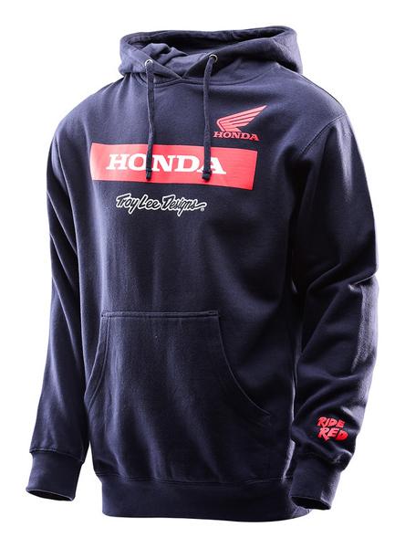 53e7ddc479a6c Troy Lee Designs - Honda Wing Block Pullover  BTO SPORTS