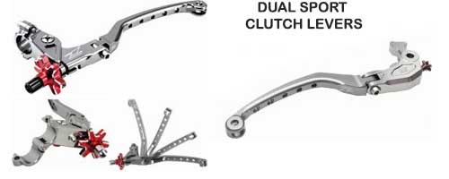 dual sport motorcycle clutch levers