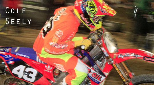 Cole Seely Phoenix SX Main Event Lap | GoPro Footage