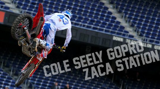 Cole Seely Go Pro at Zaca Station