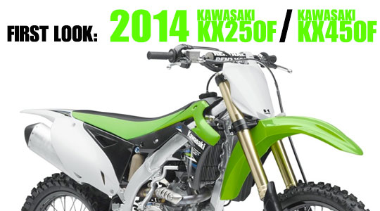 2014 Kawasaki KX-250F and KX-450F | First Look