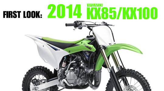 2014 Kawasaki KX85/KX100 | First Look