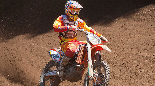 BTO Sports-KTM Re-Signs Andrew Short to Two Year Deal
